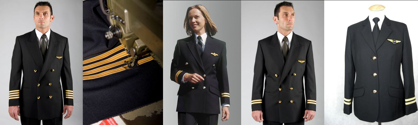 Uniform Jackets - Double Breasted - Professionally tailored